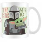 Šolja - Star Wars, The Mandalorian, The Kids With Me