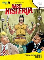 Zlatna serija 24 - Marti Misterija: Tajna nemoguće sekire (korica A)