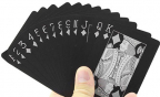 Karte za igranje - Mad Man, Black Edition, Waterproof