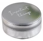 Kutija za nakit - Sophia, Silver, Important Things