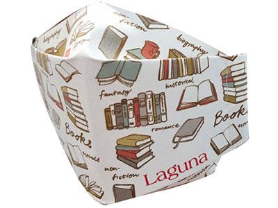 Maska za lice - Neoma origami, Laguna