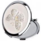 Ogledalce - Sophia, Silverplate, Nude Butterfly