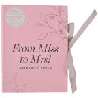Planer za venčanje - Amore, Miss to Mrs
