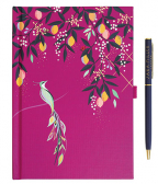 Set Agenda i olovka - Mauve Birds, Sara Miller