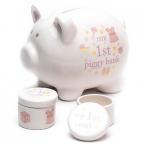 Set kasica i kutijice - Hello Baby, Piggy, Baby Girl