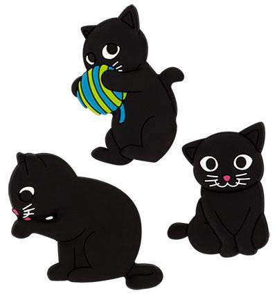 Set magneta - Happy Cat, Blue