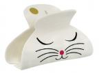 Šnala za kosu - Lady, White Cat, S