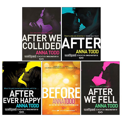 The Complete After Series Collection 5 Books Box Set