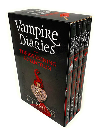 The Vampire Diaries Series 1 Collection 4 Books Bundle Box Set