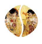 Dekorativni tanjiri - Klimt, The Kiss & Adele Bloch, Set/2