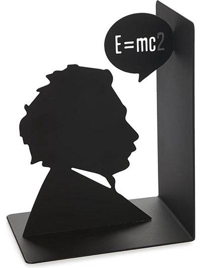 Držač za knjige - Einstein, Black