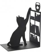 Držač za knjige - Fishing Cat, Black