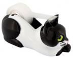 Držač za selotejp - Black White Cat