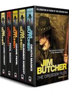Jim Butcher's Dresden Files Box set Books 1-5 in series