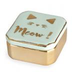 Kutija za nakit - Meow, Green