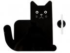 Magnetna tabla sa markerom - Meow, Black