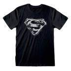 Majica - DC, Distressed Logo, Black&White, L