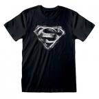 Majica - DC, Distressed Logo, Black&White, XL