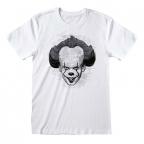 Majica - It 2, Black&White Face, L