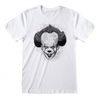 Majica - It 2, Black&White Face, M