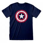 Majica - Marvel, Captain America Shield, L