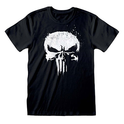 Majica - Marvel, Punisher, TV Logo, L