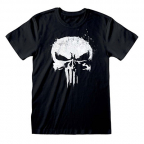 Majica - Marvel, Punisher, TV Logo, XL