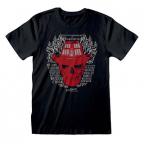 Majica - NOES, Skull Flames, XL