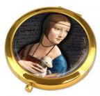Ogledalce - da Vinci, Lady with an Ermine