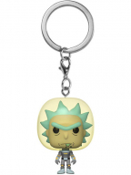 Privezak za ključeve - POP Rick & Morty, Space Suit Rick