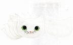 Set tupfera - White Cat, 1/6
