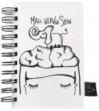 Škrabook - Mali nervni slon, A6
