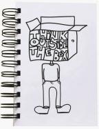 Škrabook - Think outside the box, A6