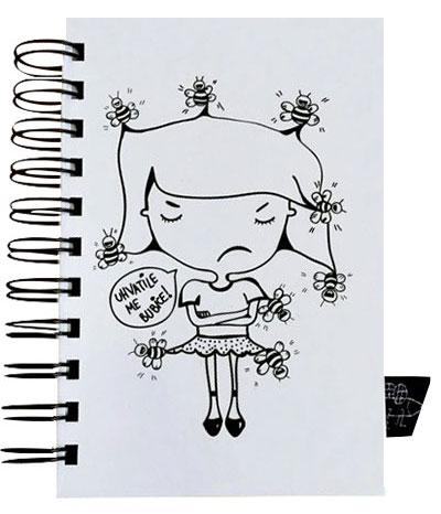 Škrabook - Uhvatile me bubice, A6