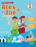 Alex et Zoe 1 - francuski jezik, udžbenik za 1. i 2. razred osnovne škole