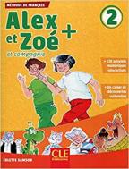 Alex et Zoe 2 - francuski jezik, udžbenik za 3. razred osnovne škole