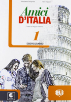 Amici d'Italia 1 - italijanski jezik, radna sveska za 5. i 6. razred osnovne škole
