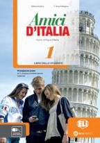 Amici d'Italia 1 - italijanski jezik, udžbenik za 5. i 6. razred osnovne škole