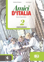 Amici d'Italia 2 - radna sveska za 7. i 8. razred osnovne škole