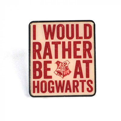 Bedž - HP, Hogwarts Slogan