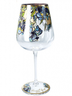 Čaša za vino - Van Gogh, Irises
