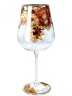 Čaša za vino - Van Gogh, Sunflowers