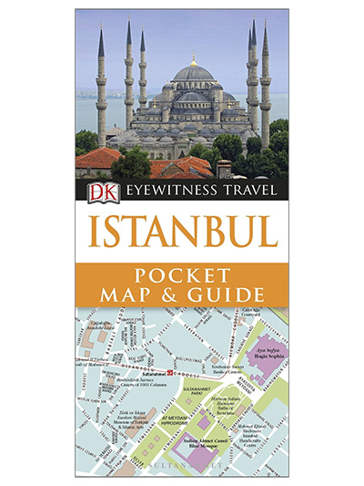 DK Eyewitness Pocket Map and Guide: Istanbul