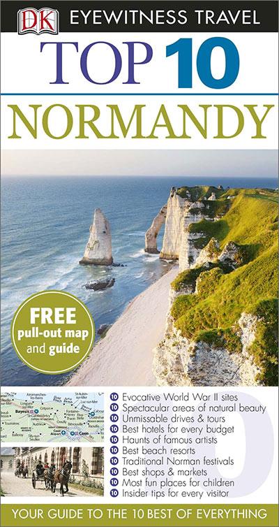 DK Eyewitness Top 10 Travel Guide: Normandy: Eyewitness Travel Guide 2014