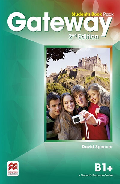 Gateway 2nd Edition B1+ Students Book Pac Paperback - engleski jezik, udžbenik za 3. godinu srednje škole