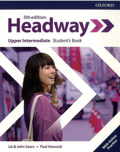 HEADWAY 5th edition Upper-Intermediate Student's Book with Online Practice - engleski jezik, udžbenik za 3. godinu srednje škole