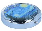 Kutija za lekove - Van Gogh, Starry night, Round