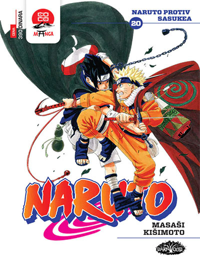 Naruto 20 - Naruto protiv Sasukea
