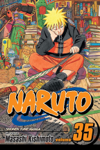 Naruto GN Vol. 35: The New Two