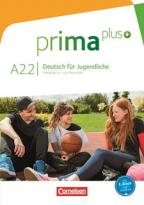 Prima Plus A2.2 - nemački jezik, udžbenik za 7. ili 8. razred osnovne škole
